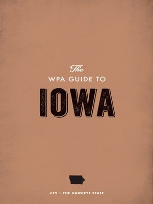 cover image of The WPA Guide to Iowa